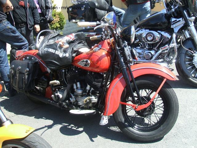 Sraz Harley Davidson v Rýmařově