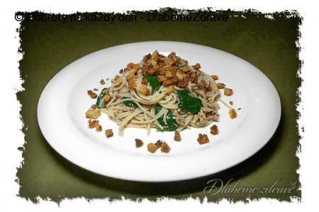 Špagety Pangrattato