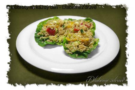Kuskus salát s klíčky