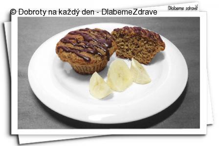 Banánové muffinky