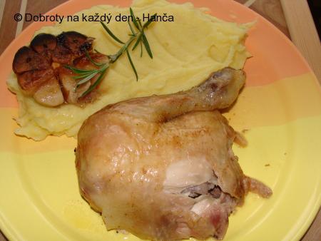 Citronové kuře s rozmarýnem