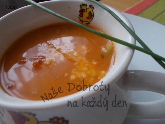 Selská polévka s rýží