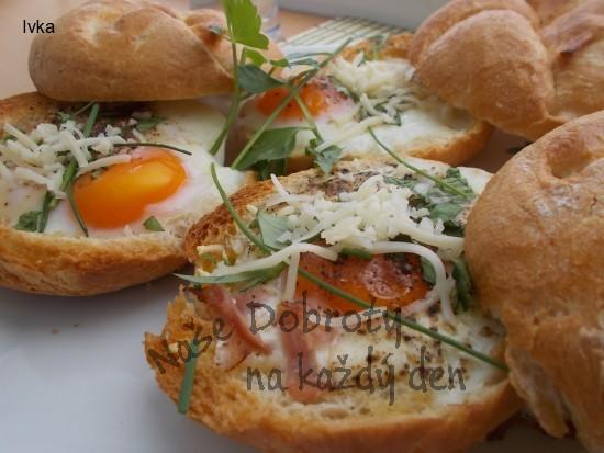 Hvězdičky- zapečené a plněné sýrem nebo i slaninou / rychlá a sytá večeře nebo svačina/