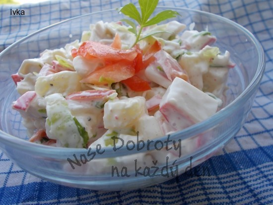 Lehký a dobrý salátek