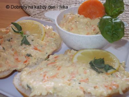 Rychlá a chutná zeleninová pomazánka