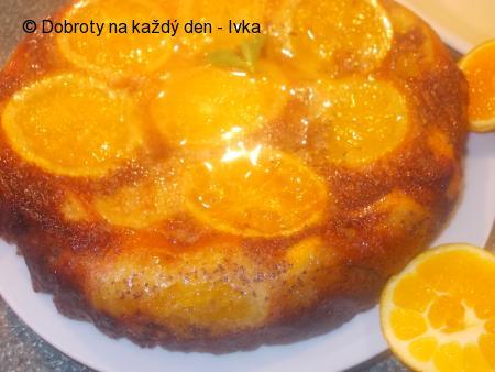 Pomerančový dort s mákem a mandlemi