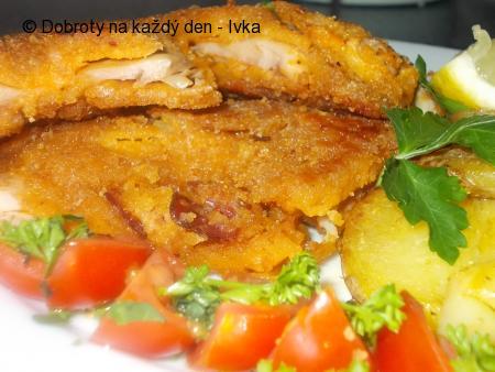 Křehké kuřecí řízečky s klobásovou vůní i chutí