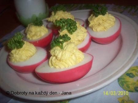 Růžová vajíčka