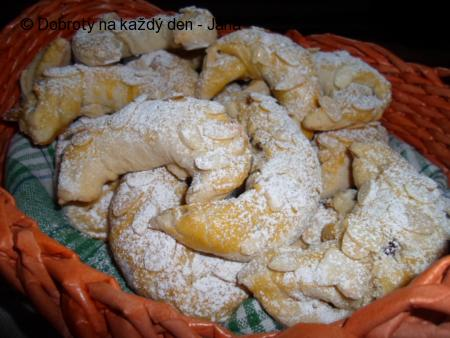 Máslové loupáky s mandlemi