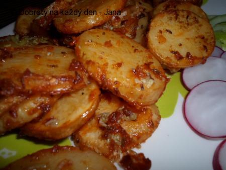 Pečené brambory s tymiánem
