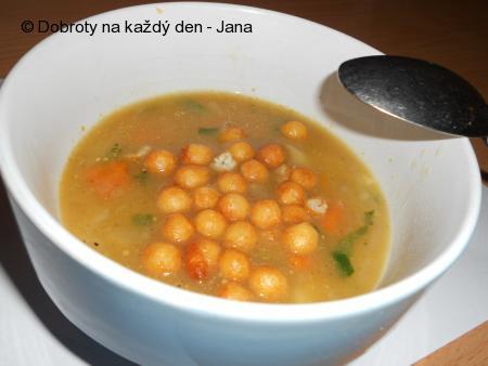Zeleninová polévka zahuštěná zeleninou
