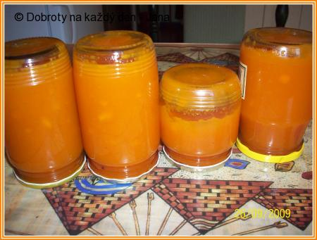Mrkvovo-citronová marmeláda