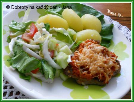 Vepřový řízek s celerem a sýrem