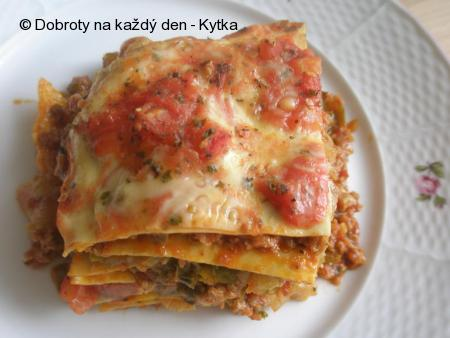 Lasagne podle Carlose