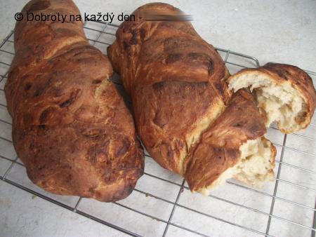 Bagety s pečeným česnekem