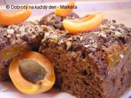 Rychlé meruňkové řezy s čokoládou