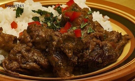 Suché hovězí curry