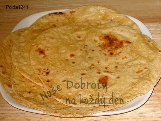 Čapati (indické placky)