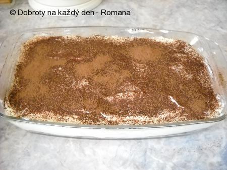 Domáci tiramisu