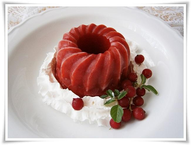 Jahodová zmrzlina s červenou řepou