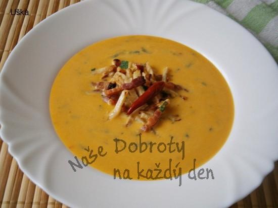 Dýňovo-celerová polévka/krém