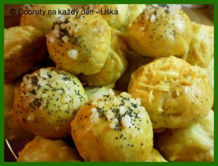 """Moravské""""majolkové""""slané bochánky"""