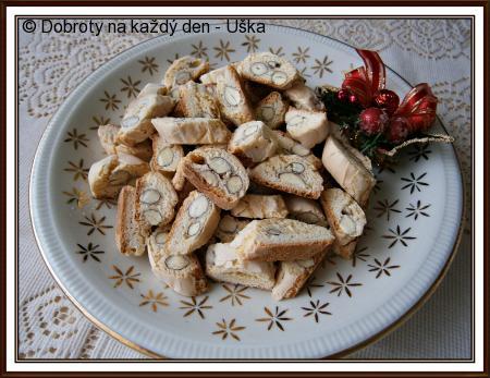 Babiččiny ořechové/mandlové suchárky