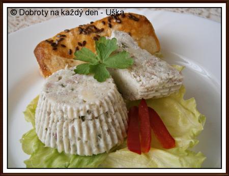 Muffiny,bílkovo-sýrové