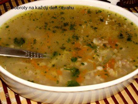 Pohanková polévka