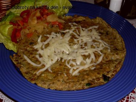 Čočková omeleta