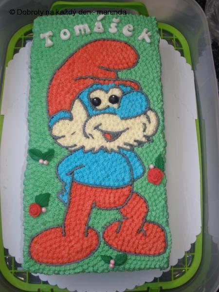dort taťka Šmoula