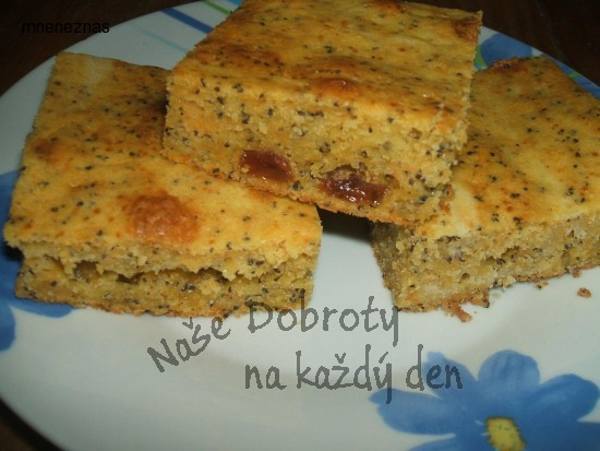 Mrkvovo - maková buchta