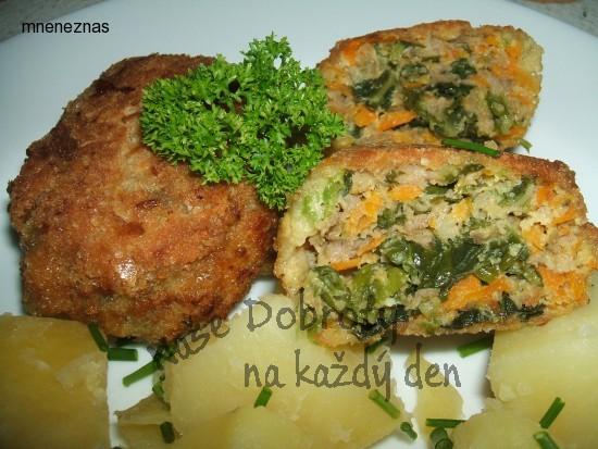 Masovo - zeleninové řízečky