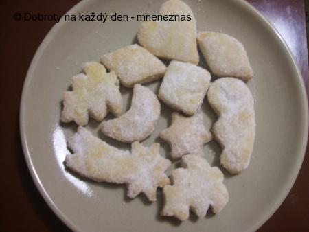Šlehačkové cukroví