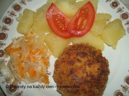 Sójové karbanátky s mrkví