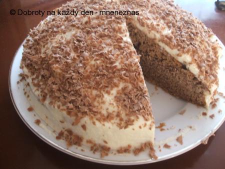 Pudinkový dort