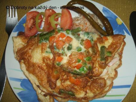 Vaječná lahůdková omeleta