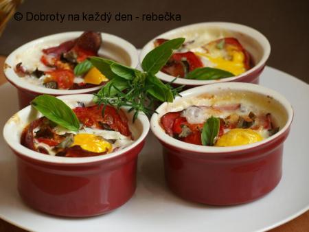 Vajíčka v miskách