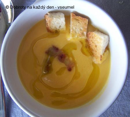 La soupe de potiron aneb polévka z dýňe
