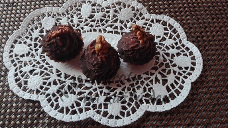 Ořechové košíčky