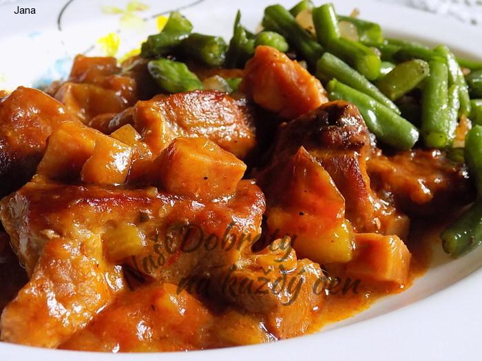Chalupářské vepřové maso