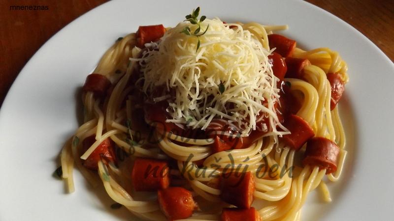 Párkové špagety