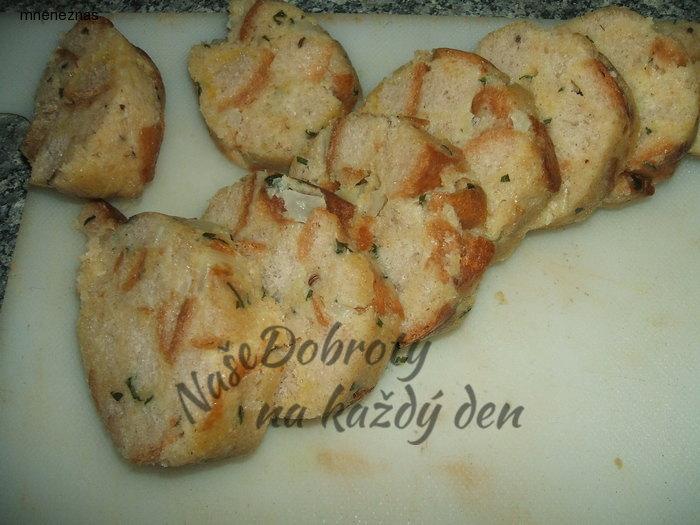 Šumavský chlebový knedlík