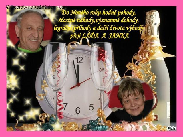 Silvestr, aneb krásný Nový rok všem Dobroťákům!!