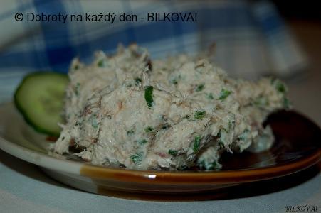 Makrelová pomazánka s křenem