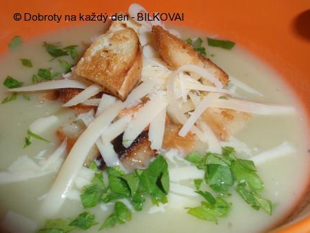 Polévka s řapíkatým celerem