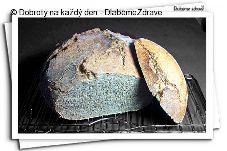 """Pšenično-žitný chléb (""""prvnáček"""")"""