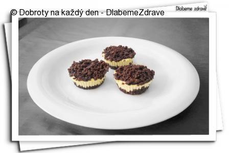 Strouhané muffinky