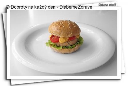 Drůbeží hamburgery