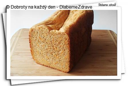 Mrkvový chlebík s fenyklem